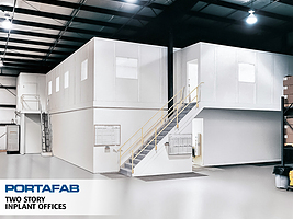 two story modular offices